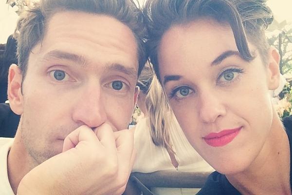 Steve Basilone e Lauren Morelli (Reprodução/Instagram)