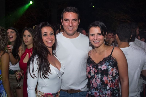 Priscilla Mascondelli, Guilherme Cunha e Luciana Solino (Romulo Juracy/Esp. CB/D.A Press)