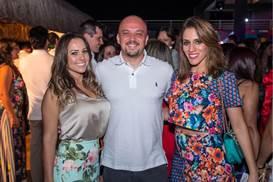 Gizelle Cerqueira, Fabiano Follador e Raíssa Rios Viana (Romulo Juracy/Esp. CB/D.A Press)