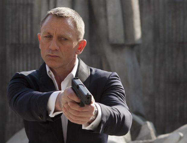 Daniel Craig como James Bond em cena de 'Operação Skyfall' (Goldwyn-Mayer/Divulgação)