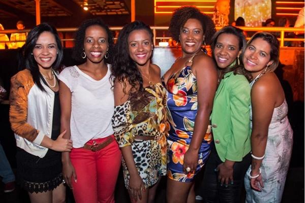 Marina Avelar, Talita Mota, Keroly Pereira, Isabel e Monica Avelar e Greice Souza (Romulo Juracy/Esp. CB/D.A Press)