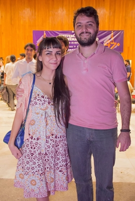Cinthia Faria e Pedro Passos ( Romulo Juracy/Esp. CB/D.A Pres)