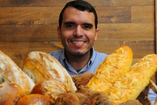 Gustavo Bomtempo investe em pães de baixa fermentação  (Janine Moraes/CB/D.A Press)