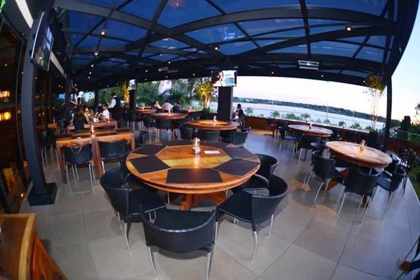 Novo salão do restaurante Coco Bambu do Lago Sul (Aliran Campos/Divulgação)