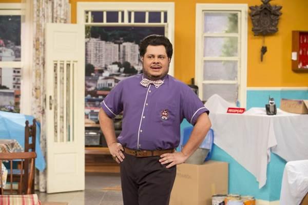 O personagem Ferdinando roubou a cena em 'Vai que cola' (Juliana Coutinho/Divulgação)