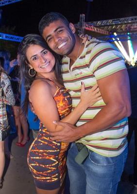 Flávia Andrade e André Cândido (Romulo Juracy/Esp. CB/D.A Press)