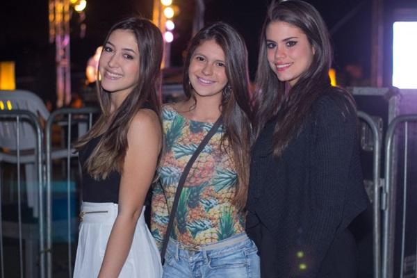 Lívia Campos, Marcela Araújo e Cristine Santos (Romulo Juracy/Esp. CB/D.A Press)