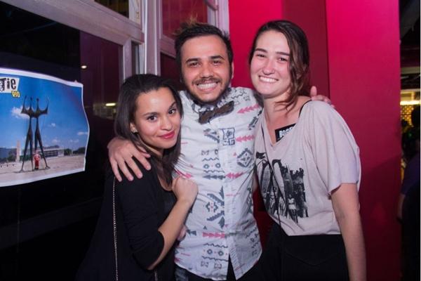 Aline Muniz, Lucas Stabile e Paula Belhan (Romulo Juracy/Esp. CB/D.A Press)