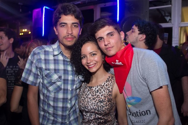 Daniel Ribeiro, Gabriela Arnt e Renato Luis  (Romulo Juracy/Esp. CB/D.A Press)