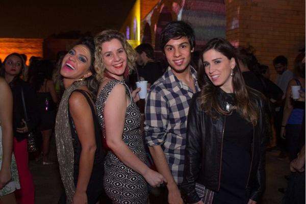 Deise Carvalho, Izaura Cruz, Adam Henrique e Letícia Soares (Romulo Juracy/Esp. CB/D.A Press)