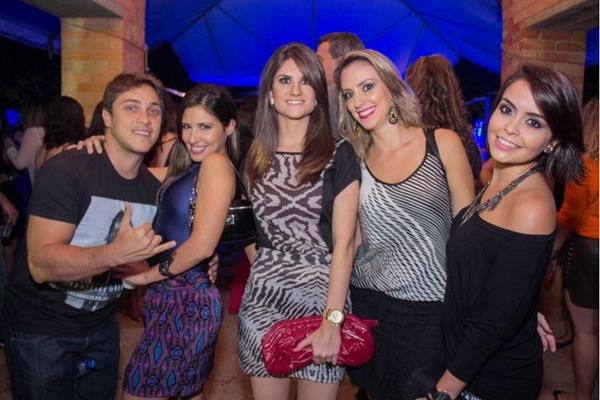 Emanuel Ferreira, Sandra Calvo, Naira Bicudo, Fernanda Lima e Clarissa Honório (Romulo Juracy/Esp. CB/D.A Press)