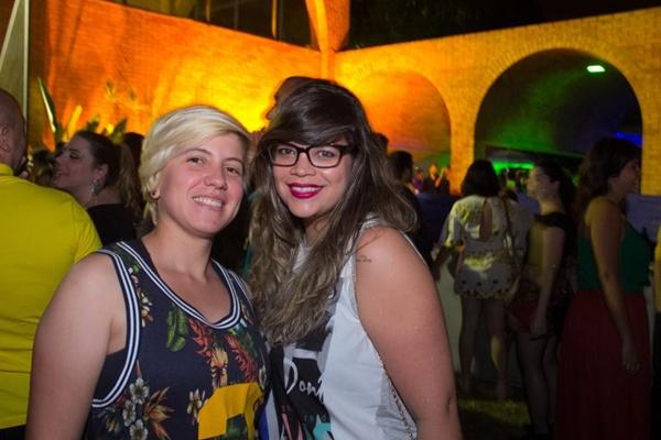 Larissa Catita e Fabianna Mainier (Romulo Juracy/Esp. CB/D.A Press)