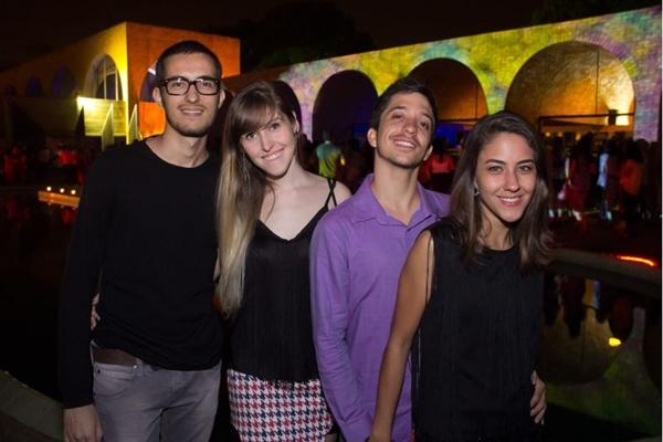 Manoel Fonseca, Livia Costa, José Henrique e Mariana Resende (Romulo Juracy/Esp. CB/D.A Press)