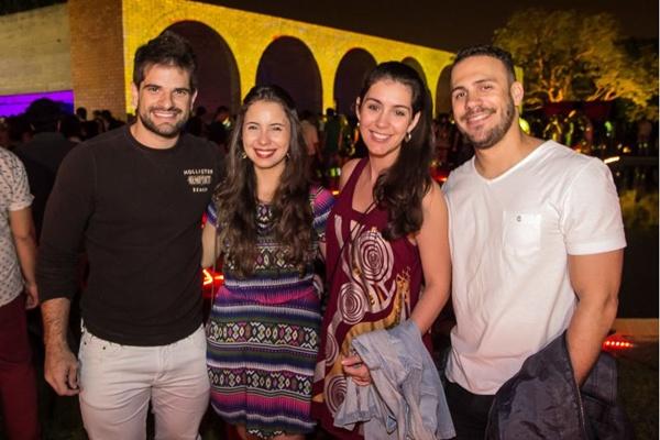 Rodrigo Vasconcelos, Mariana Nery, Jéssika Assis e Cezar Romerito (Romulo Juracy/Esp. CB/D.A Press)