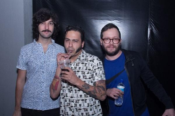 Gustavo Halfeld, Daniel Gomes e Luis Fernando (Romulo Juracy/Esp.CB)