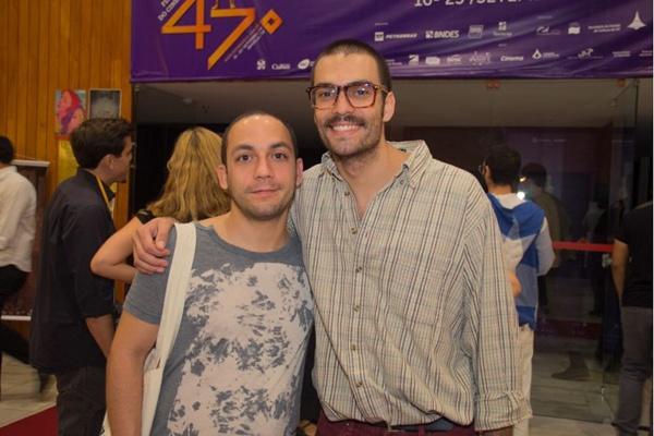 Caetano Gotardo e Gustavo Vinagre (Romulo Juracy/Esp. CB/D.A Press)