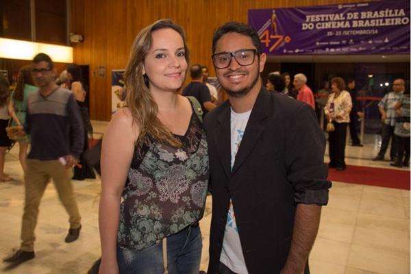 Camila Dourado e Lucas Magalhães (Romulo Juracy/Esp. CB/D.A Press)