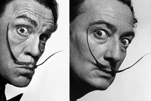 Salvador Dalí de Philippe Halsman (Reprodução/ SandroFilm.com)