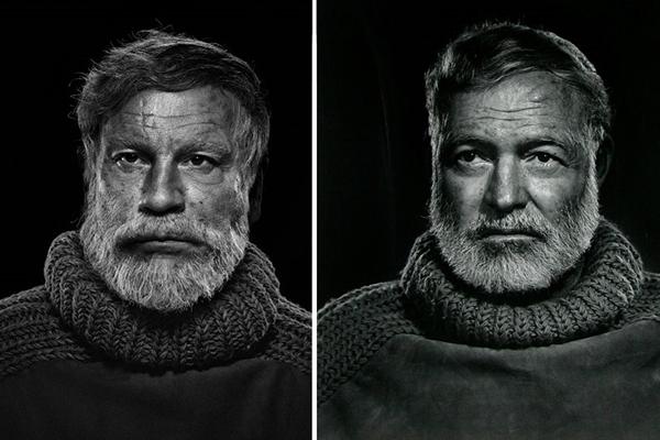Ernest Hemingway de Yousuf Karsh  (Reprodução/ SandroFilm.com)