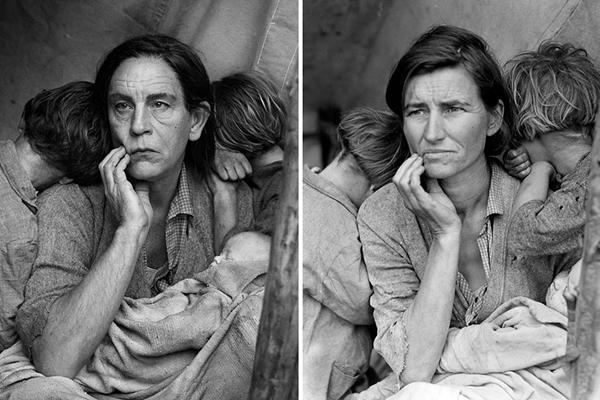 Mulher Imigrante de Dorothea Lange (Reprodução/ SandroFilm.com)