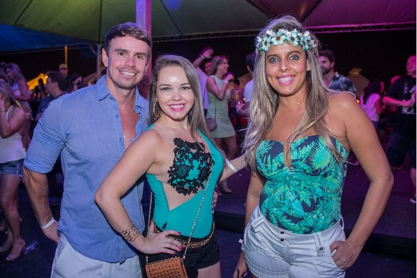 Cristiano Dias, Luciana Mendes e Karina Carvalho (Rômulo Juracy/Esp. CB/D.A Press)