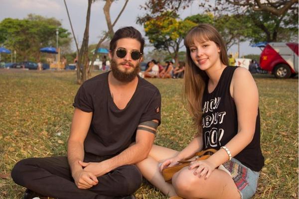 Douglas Fernandes e Nathália Barcelos (Romulo Juracy/Esp. CB/D.A Press)