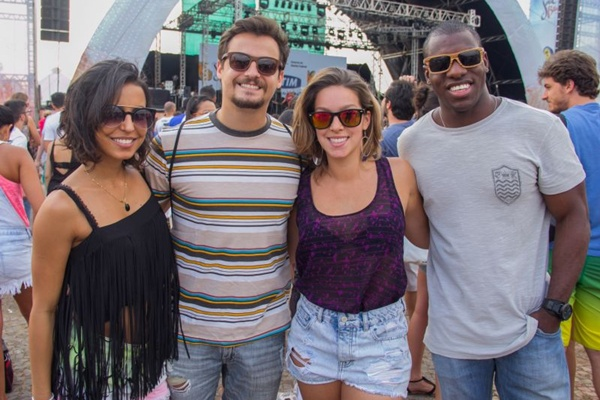 Grazielle Alves, Guilherme Rabelo, Isabel Silveira e Hugo Santos (Romulo Juracy/Esp. CB/D.A Press)