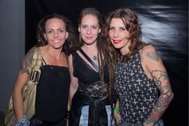Janaina Borges, Aryela Knox e Ingrid Diniz (Romulo Juracy/Esp. CB/D.A Press)