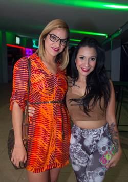Ingrid Andrade e Yascara Saskia (Romulo Juracy/Esp. CB/D.A Press)