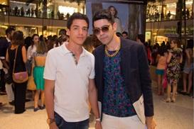 Kaian Calegari e Pedro Russo (RomuloJuracy/CB/D.A Press)