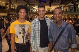 Leandro Lopo, André Esteves e Natanael Fróes (RomuloJuracy/CB/D.A Press)
