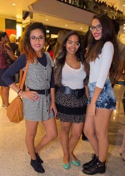 Ana Carla da Silva, Gabriela Jardim e Aline Jardim (RomuloJuracy/CB/D.A Press)