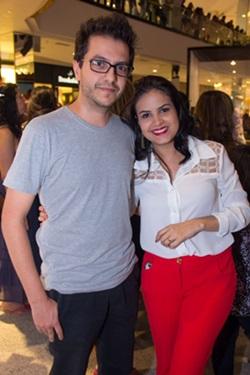 Antônio Neto e Sara Rodrigues (RomuloJuracy/CB/D.A Press)