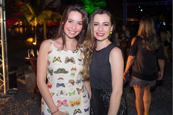 Gabriela Leite e Jéssica Fortaleza (Romulo Juracy/Esp. CB/D.A Press)