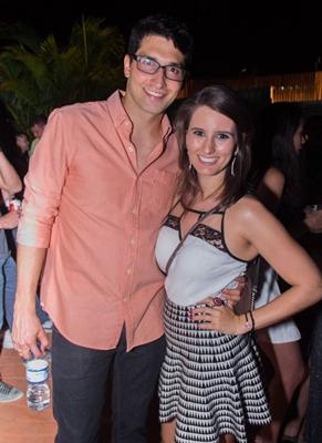 Efraim Carvalho e Isabella Correia (Romulo Juracy/Esp. CB/D.A Press)