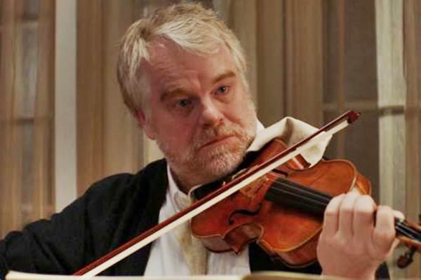 O último concerto: oportunidade para rever Philip Seymour Hoffman em cena (Europa Filmes/Divulgação.)