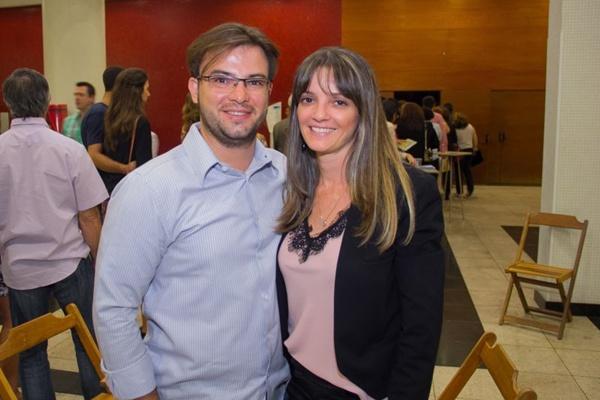 Eduardo Ferreira e Eliana Gris  (Romulo Juracy/Esp. CB/D.A Press)