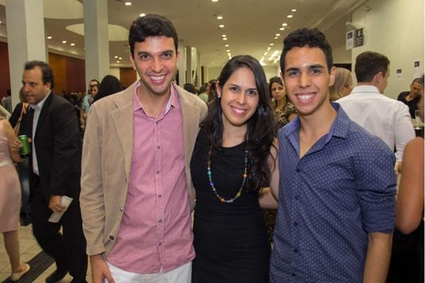 Fernando Lacerda, Dalila Borges e Pedro Borge (Romulo Juracy/Esp. CB/D.A Press)