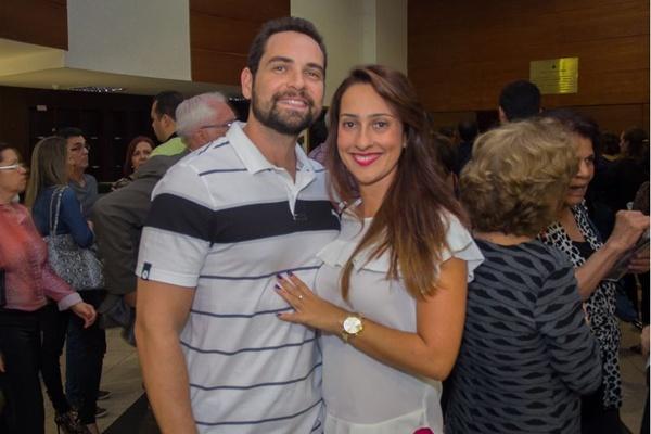 João Vinicius e Rebeca Crivelaro  (Romulo Juracy/Esp. CB/D.A Press)