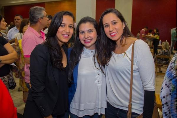 Letícia Coelho, Rayanne Ferreira e Mariana Vieira (Romulo Juracy/Esp. CB/D.A Press)