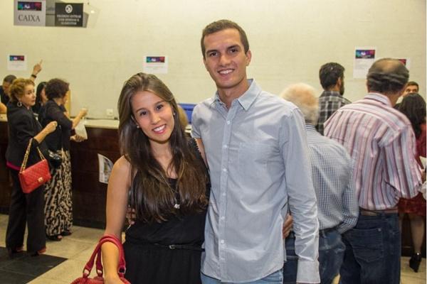 Luiza Matos e Fernando Carvalho (Romulo Juracy/Esp. CB/D.A Press)