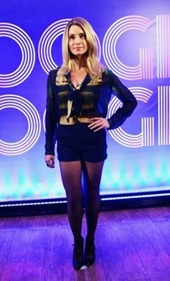 Aos 41 anos, Letícia Spiller se consolida na carreira de atriz  (João Miguel Júnior/TV Globo)