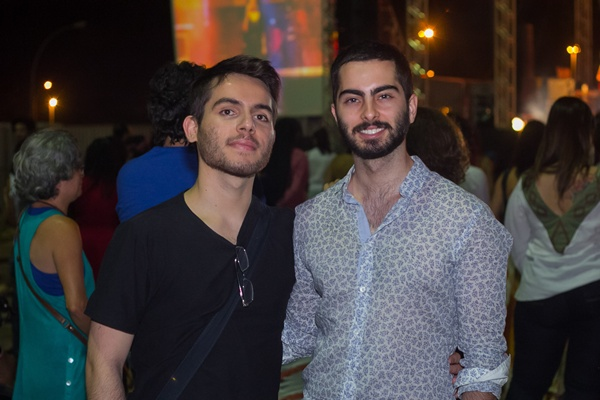 Alisson Novaes e Pedro Bernardes (Rômulo Juracy/Esp. CB/D.A Press )