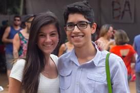 Marina Jorge e Tiago Carvalho ( Romulo Juracy/Esp. CB/D.A Press)