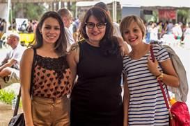 Leny Valadão, Sabrina Bacelar e Mayara Espósito ( Romulo Juracy/Esp. CB/D.A Press)