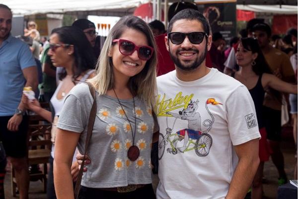 Amanda Freitas e Cássio Costa ( Romulo Juracy/Esp. CB/D.A Press)