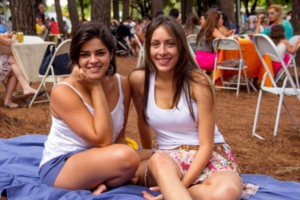 Ananda Martins e Luisa Giampaolo ( Romulo Juracy/Esp. CB/D.A Press)