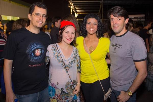 Paulo Henrique, Daniele Leal, Patrícia Ramos e Ricardo Costa (Romulo Juracy/Esp. CB/D.A Press)
