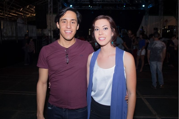 Rubens de Souza e Caroline Matos (Romulo Juracy/Esp. CB/D.A Press)