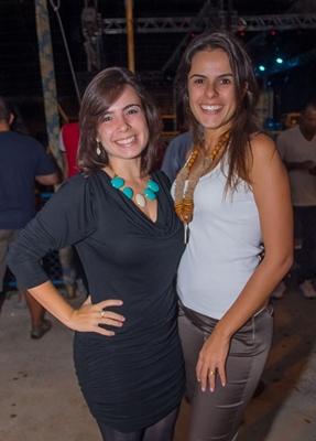 Clarissa Lima e Patrícia Cardoso (Romulo Juracy/Esp. CB/D.A Press)